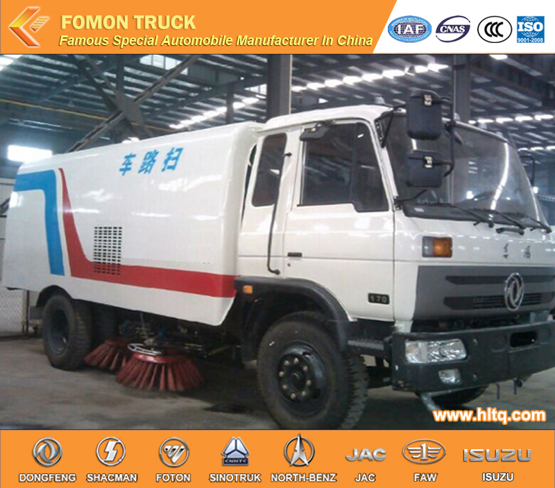 Factory Price Quality Assurance Dongfeng 153 4x2 pavement sweep truck