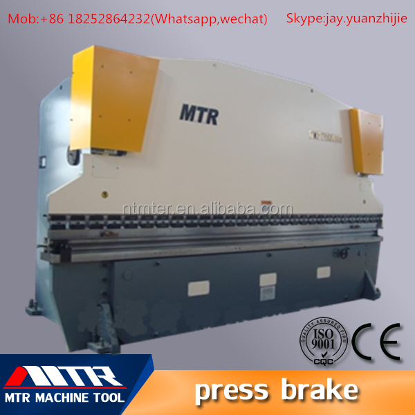 hydraulic mechanical cnc stainless steel press brake(WC67K-125/4000)