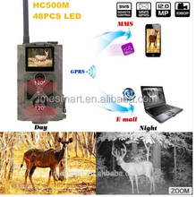 MMS GSM GPRS Hunting Trail Camera HC500M Waterproof 12MP 1080P HD Solar Powered Hunting Camera Photo Traps