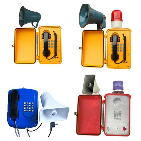 List Of Networking Companies China Manufacturer Abrasion Proof Telephone KNSP-08 Loudspeaker Weatherproof Telephone