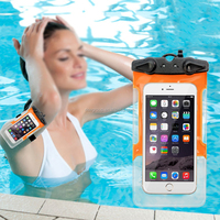 PVC brand waterproof smart phone case