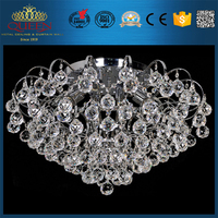 Crystal Led Ceiling Lamp Beautiful For