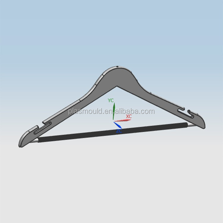 china factory price plastic injection mould plastic clothes hanger mold