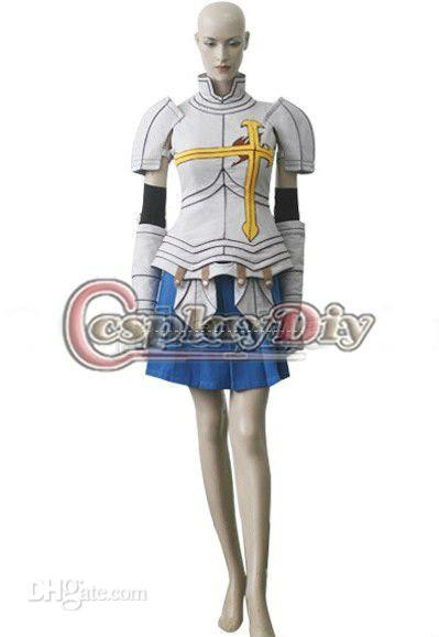 Custom Made Fairy Tail Erza Scarlet Anime Halloween Carnival Cosplay Costume Adult