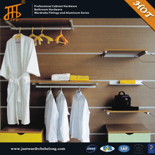 Back wall showroom cloakroom series for cloth supplier wardrobes bangalore