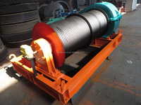 High Quality Construction Electric Groove Drum Winch