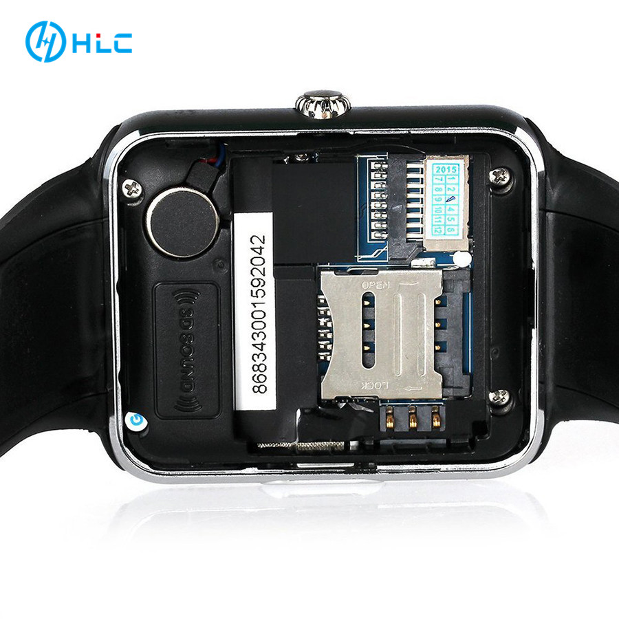 Low MOQ with Wholesale Price,Smart Watch Cell Pone GT08,V8,<strong>A1</strong> with Camera,SIM TF Card,Men Women Smartwatch