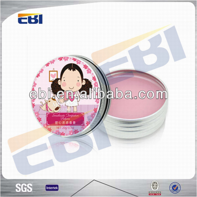 Aluminum hair wax boxes and packaging