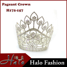 Fashion Rhinestone Luxury Trendy Pageant Beauty <strong>Crown</strong> H172-157