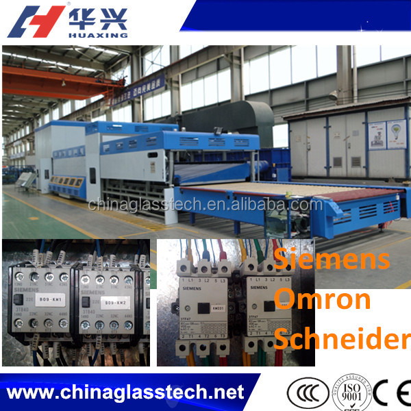3600*2400mm Electric Tempered/toughened Glass Machinery/Flat Glass Tempering Furnace