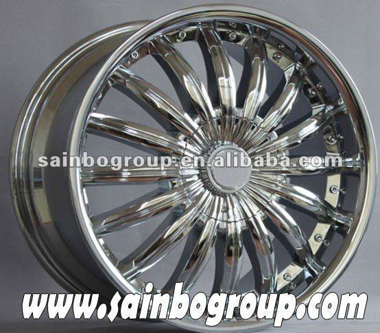 used car aluminum chrome wheels F0239