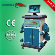 2013 Hot selling high accuracy PL-8100 Bus Bluetooth four wheel aligner