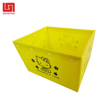 Wholesale Cheap 100% Recycled PP Corrugated Plastic Storage Box/Stackable Corrugated Plastic Totes