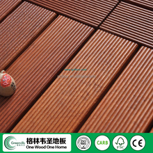Solid Indonesian merbau natural outdoor oiled decking wood