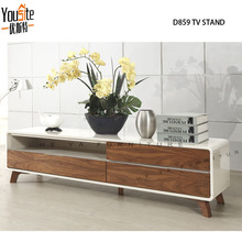 Wlnut wood tv stand ,wooden tv racks designs