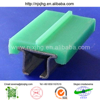 green color uhmw pe guide chain plate