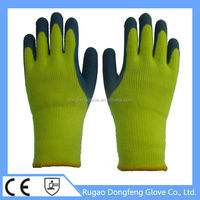 Acrylic Knitted Hand Protective Gloves Protective Gloves