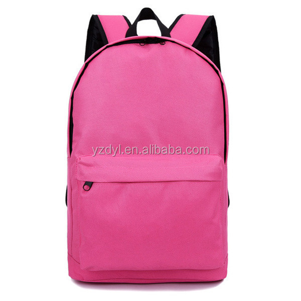 Custom polyester funny kids school backpack