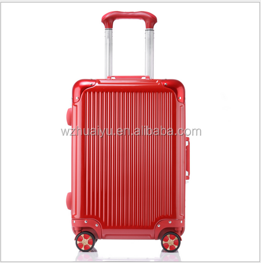 20''/24''/29'' aluminum frame bluetooth lock smart luggage