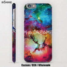 Professional mobile phone case factory provide beautiful printed for iphone 6 case back cover