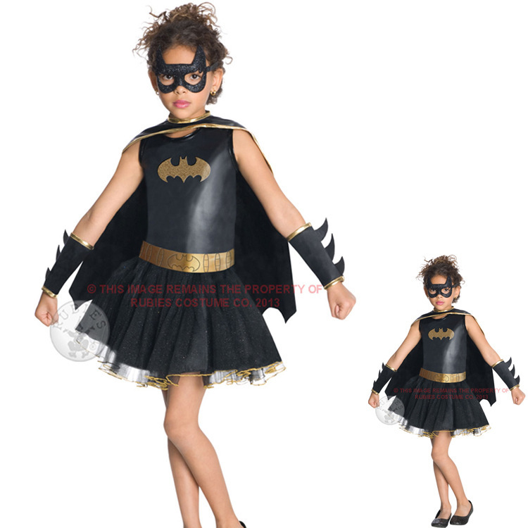 get quotations halloween costume party little girls batman costumes mask party cute kids dress children role party cosplay