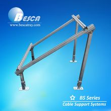 Flexible Usage C Channel Solar Bracket System For Solar Panel Support