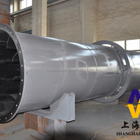 Rotary Dryer Metallurgy Machinery Mineral Powder