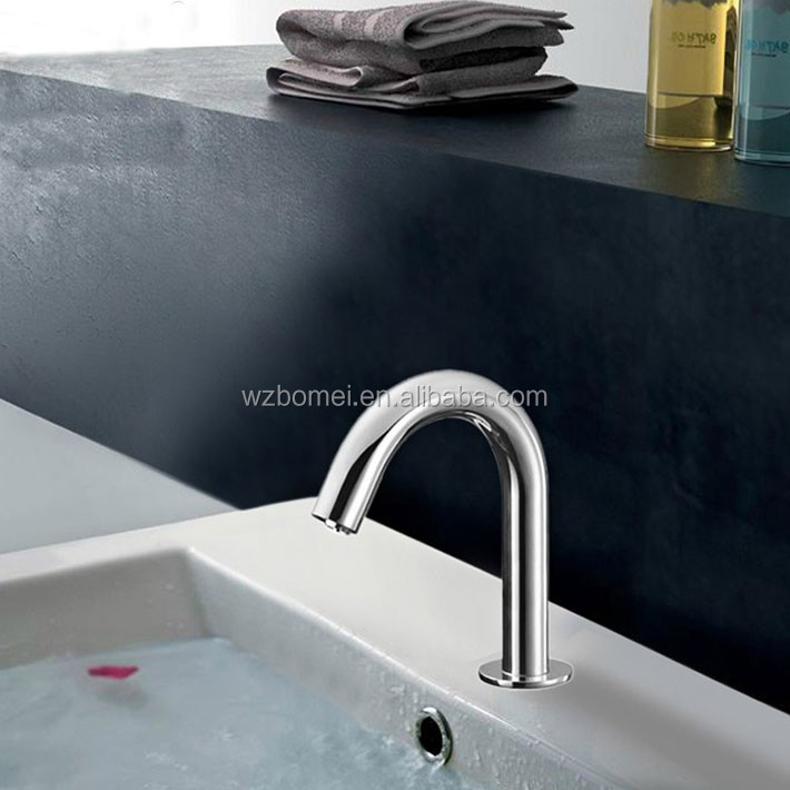 2015 new arrival infrared medical intelligent automatic sensor faucets single cold thermal sensor faucet