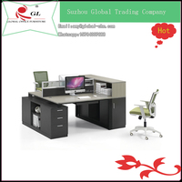 2 person computer desk table design for office working table
