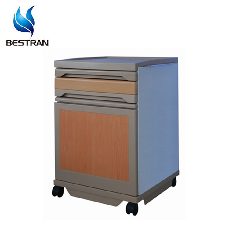 BT-AL004 medical hot sale hospital plastic ABS Bedside Cabinets