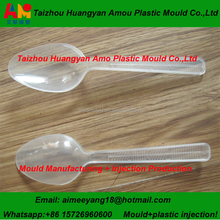 Best price 24 cavity plastic spoon injection mould making in Taizhou Amo