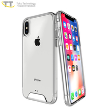 Heavy duty shock proof clear for iphone x case