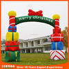outdoor entrance arch designs, rainbow used inflatable arch