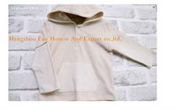 100% organic cotton baby coat
