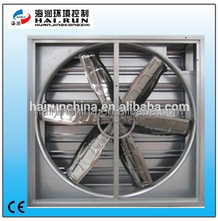 Centrifugal Shutter Type Exhaust Fan for greenhouse (50 inch )