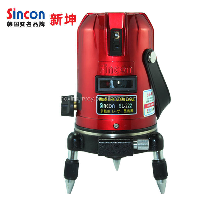 Sincon SL-222 self-leveling red line laser level construction