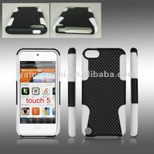 For Apple Ipod Touch 5 Mesh Combo Cell phone case