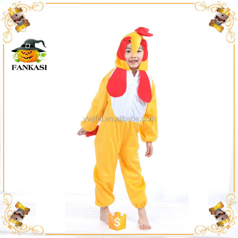 Cock Animal Cosplay Costume for kids
