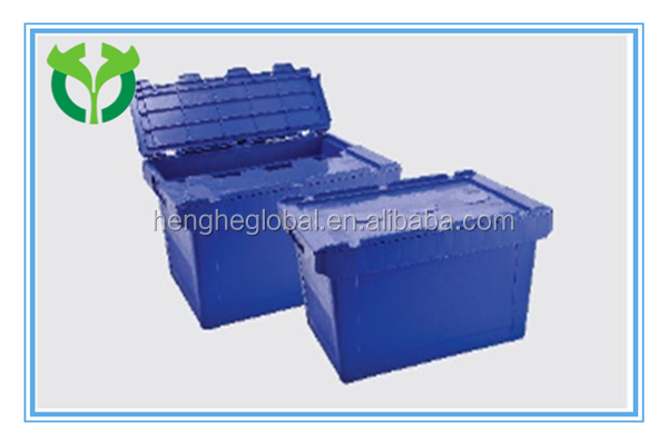 Inclined inserted used on pallet plastic tool box