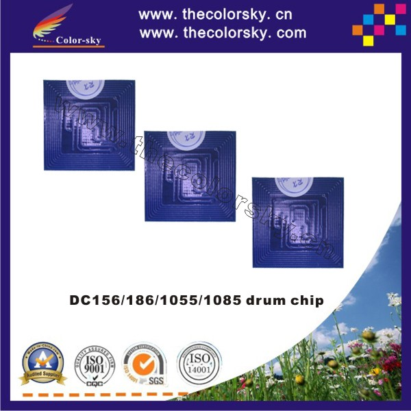 (TY-X156D) reset drum unit chip for Xerox DC 156 186 1055 1085 DC156 DC186 DC1055 DC1085 C156 C186 C1055 C1085 bk 50K pages
