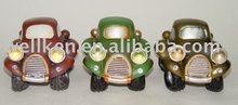 resin promotional item,polyresin car piggy bank