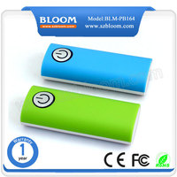 universal mobile power solution 5600mah power bank with led torch light