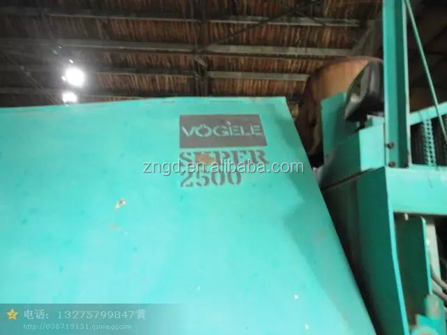 Used condition Vogele 2500 paver year 1999 second hand Vogele 2500 paver used Vogele 2500 paver for sale