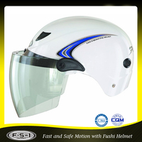 Hot selling ABS shell citizen half face motorcycle helmet for scooter helemt from China supplier