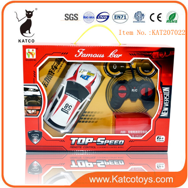 2019 Cute 1:24 Radio Control Toy Electric Toy Car For Kids Remote Model Car Toy