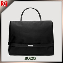 fashion lady laptop bag woman laptop computer bag nylon briefcase tote bag