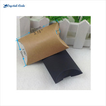 China fashionable large quantity pillow paper box