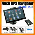Portable Mediatek GPS Navigator With 7inch Touch Screen