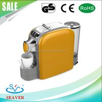 High quality italy capsule espresso coffee machine