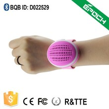 Wearable Sports Watch Bluetooth Speaker with TF Slot For All smart phones